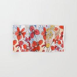 Summer Irises Pt 2 Hand & Bath Towel