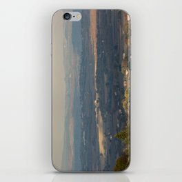 Sunset Italian countryside landscape view iPhone Skin