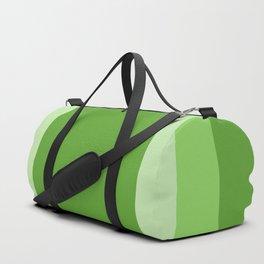Green Square Design Duffle Bag