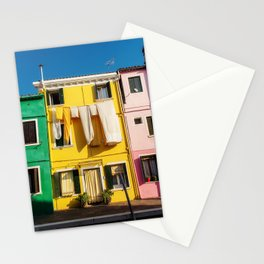 Beautiful Burano Italy Stationery Cards