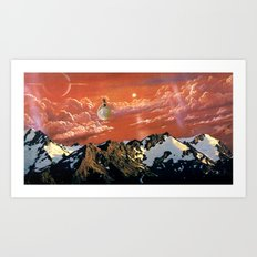 Dream in Saturn (2012) Art Print