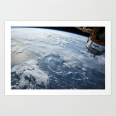 welcome to the space station Art Print