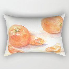 Les oranges Rectangular Pillow