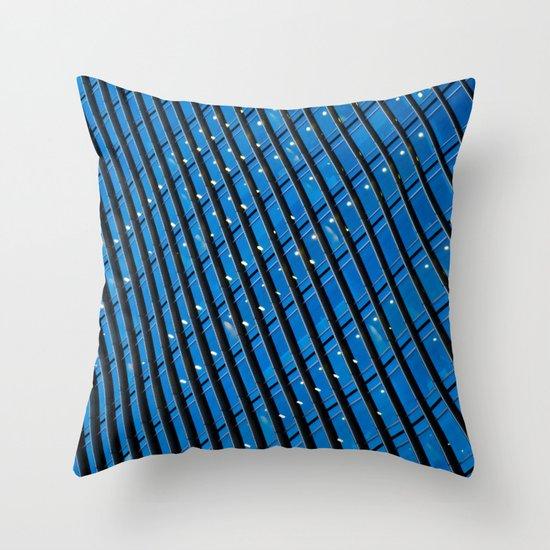 Skyscraper Abstract Throw Pillow