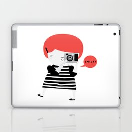 The ginger photographer Laptop & iPad Skin