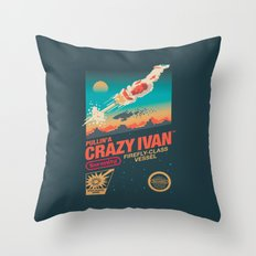 Crazy Ivan Throw Pillow