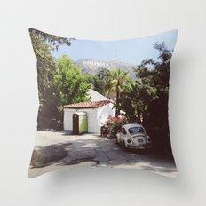Hollywood, California Throw Pillow