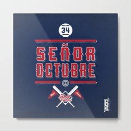 Senor Octubre! Metal Print