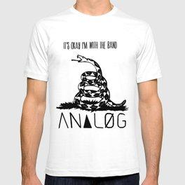 Snake and Band (Analog Zine) T-shirt