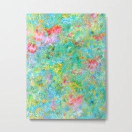 Tropical Waters Abstract #sabidussi #buyartprints #society6 #decor Metal Print