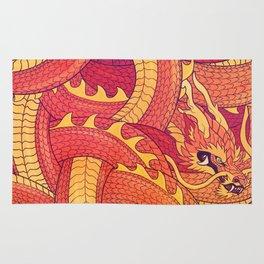 Coiled Dragon Rug