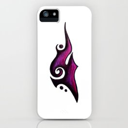 Grace / نعمة  (purple) iPhone Case