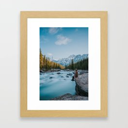 Mistaya Canyon Framed Art Print