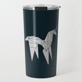 Blade R. Unicorn, Origami Artwork for Wall Art, Prints, Posters, Tshirts, Women, Men, Kids Travel Mug