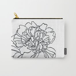 Paper-cut Peony Carry-All Pouch