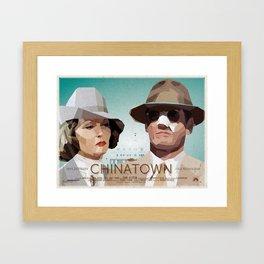 Chinatown movie fanart poster - version 2 Framed Art Print