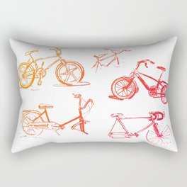 summer bikes Rectangular Pillow
