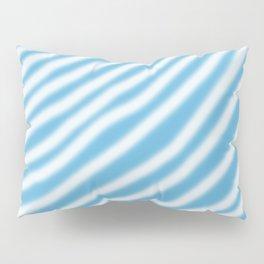blue & white Pillow Sham