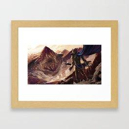 Dalinar the Blackthorn Framed Art Print