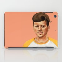 jfk iPad Cases featuring Hipstory -  John F Kennedyn by Amit Shimoni