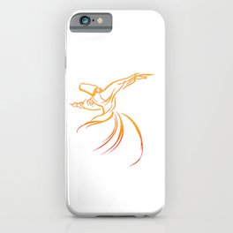 Sema The Dance Of The Whirling Dervish iPhone Case