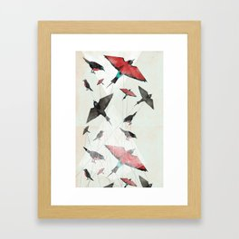Tied Down Framed Art Print