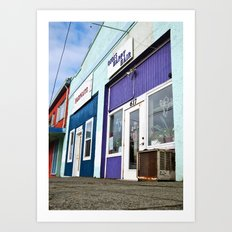 Architecture in color Art Print