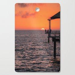 Sunset Fishing Cutting Board