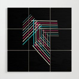Transcend Patchwork Wood Wall Art