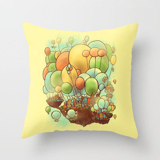 Cloud City Throw Pillow