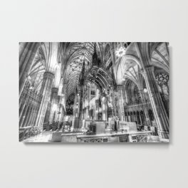 St Patrick's Cathedral New York Metal Print