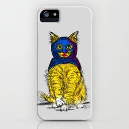 BAT CAT MAGIC iPhone Case