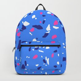 Bold Colors Terrazzo Backpack
