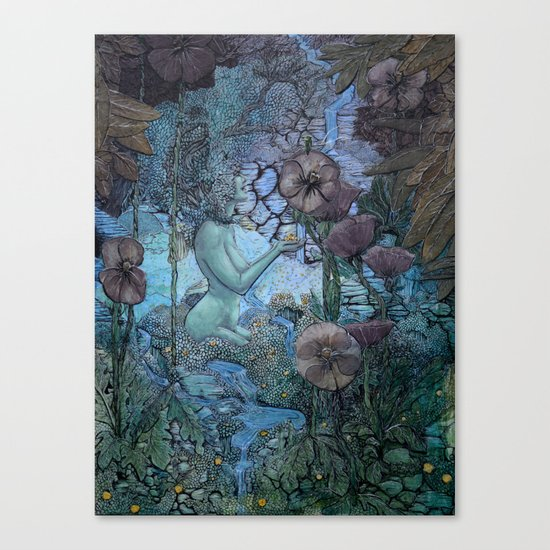 Gaian Forest Canvas Print