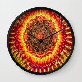 Hail to my African Sun Wall Clock