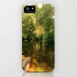 Late Summer at Big Rock iPhone Case