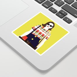 Peggy Olson Mad Men Sticker