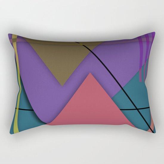 Abstract #413 Rectangular Pillow