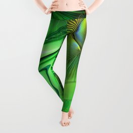 Heart Chakra Energy. Leggings