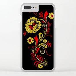 Russian folk Clear iPhone Case