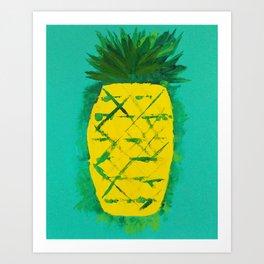 Pineapple (Monumental) Art Print
