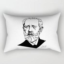 Pyotr Ilyich Tchaikovsky Rectangular Pillow