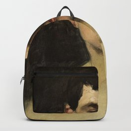Carolus-Duran - A study of a head Backpack