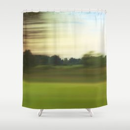 Sea Of Green #1 Shower Curtain