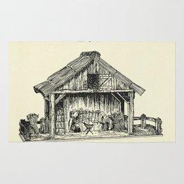Christmas Crib-1940 Rug
