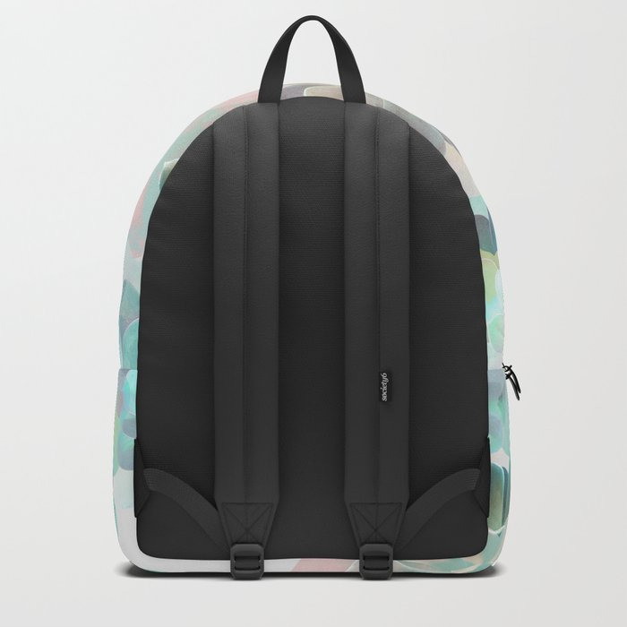 Succulent Pattern Backpack