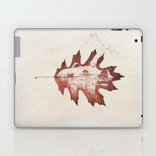 Autumn morning Laptop & iPad Skin