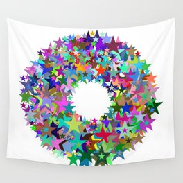 720 stars Wall Tapestry
