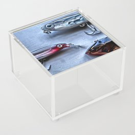 Time to Fish, Freshwater Fishing Acrylic Box