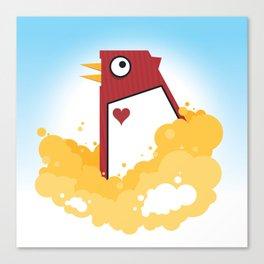 Big Chicken Canvas Print